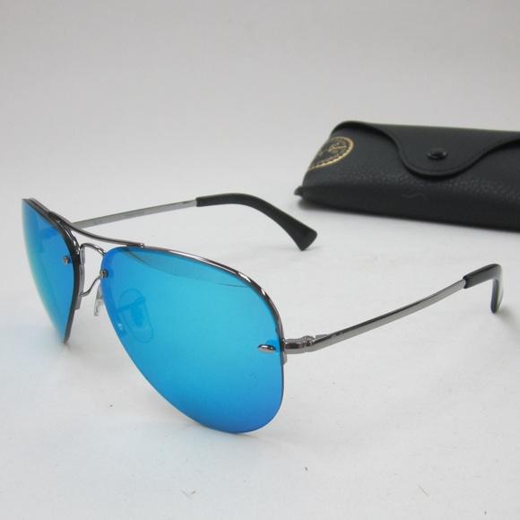 5edd08ca31 RayBan RB 3449 004 55 Aviator Sunglasses  OLN105. M 5b22d5cf2beb79ac706d0837